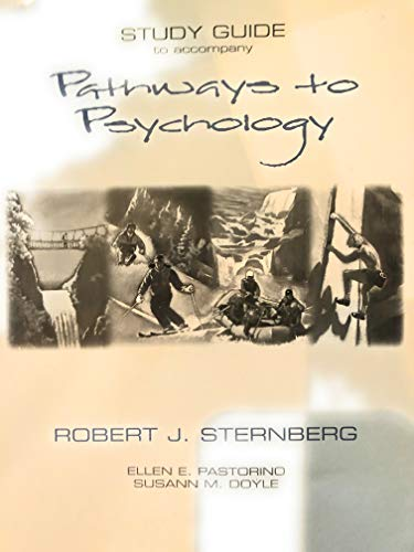 9780155040687: Pathways to Psychology
