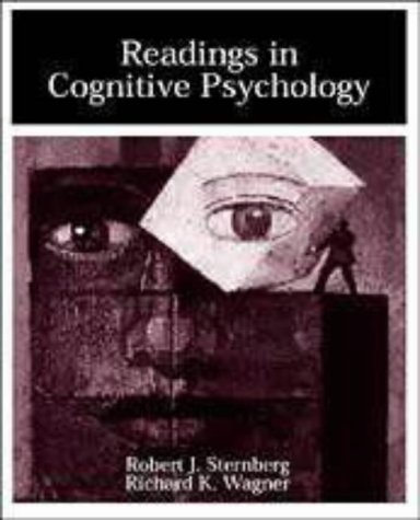 Readings in Cognitive Psychology: Robert J. Sternberg,