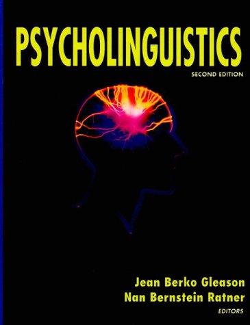 9780155041066: Psycholinguistics