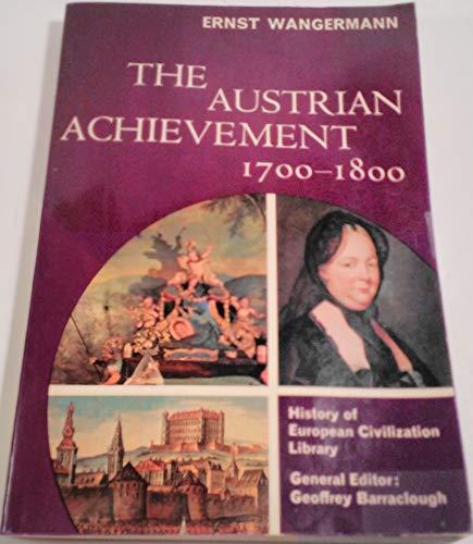 9780155043374: The Austrian Achievement, 1700-1800.