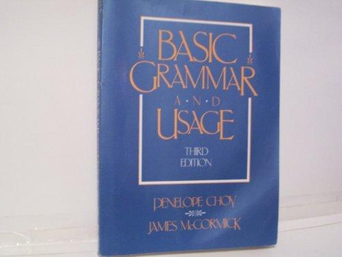 9780155049352: Basic grammar and usage