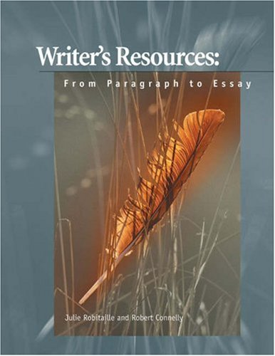 9780155049956: Writer's Resources: From Paragraph to Essay