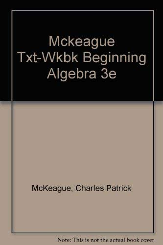9780155052345: Beginning Algebra: A Text/Workbook