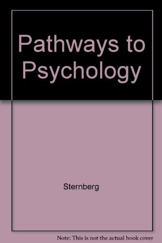 9780155053311: Pathways to Psychology