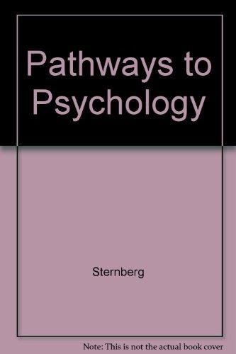 9780155053311: Pathways to Psychology