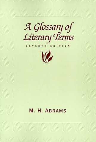 9780155054523: A Glossary of Literary Terms (Enseignement Am)