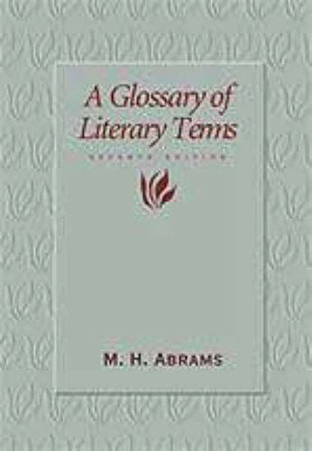 9780155054523: Glossary of Literary Terms
