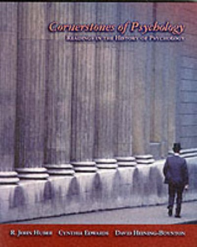 9780155054578: Cornerstones of Psychology: Readings from the History of Psychology