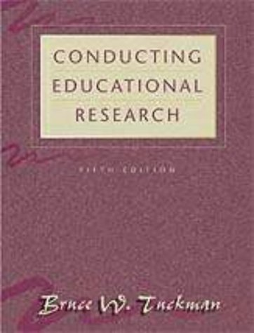 9780155054776: Conducting Educational Research