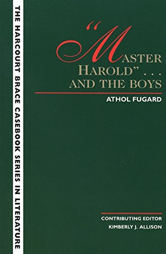 "Master Harold"""" and the Boys"