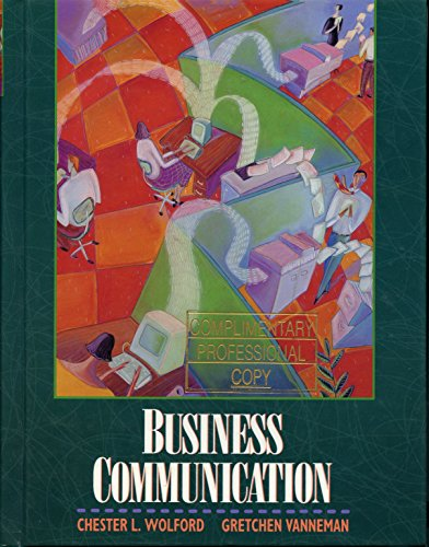 9780155054929: Business Communication