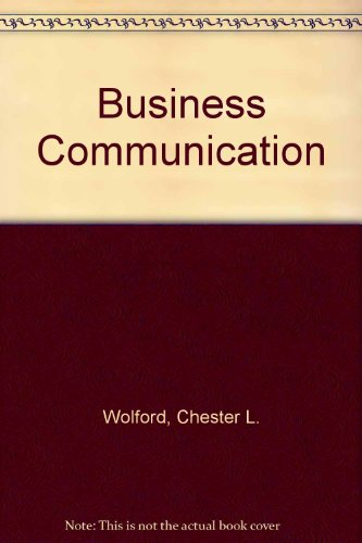 9780155054936: Business Communication