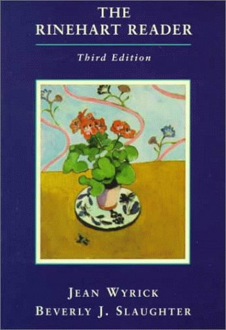 9780155055124: The Rinehart Reader, 3rd Edition