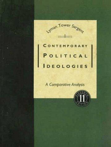 9780155055155: Contemporary Political Ideologies: A Comparative Analysis
