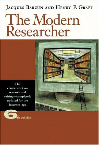 9780155055292: The Modern Researcher (with InfoTrac)