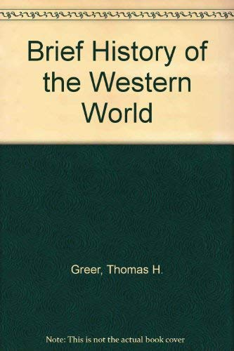 9780155055520: A Brief History of the Western World