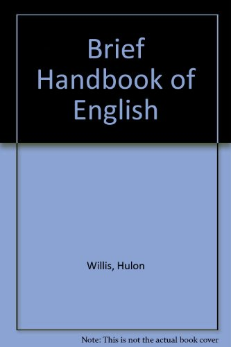 9780155055599: Brief Handbook of English
