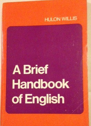 9780155055650: Brief Handbook of English
