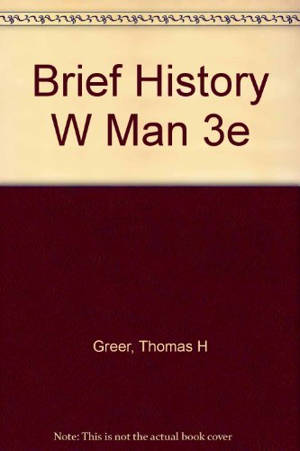 9780155055810: A Brief History of Western Man