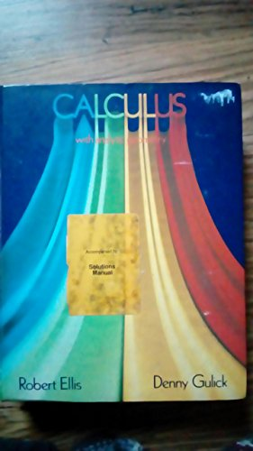 9780155057289: Calculus with Analytic Geometry