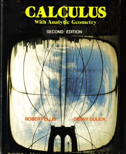 9780155057319: Calculus with Analytic Geometry