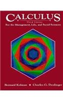 9780155057852: Calculus for the Management, Life and Social Sciences (Germanic Studies in America; 64)