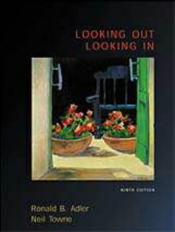 9780155057876: LOOKING OUT,LOOKING IN,9E