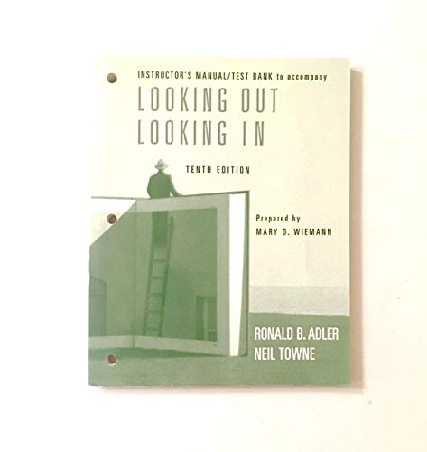 LOOKING OUT/LOOKING IN IM/TB: Adler