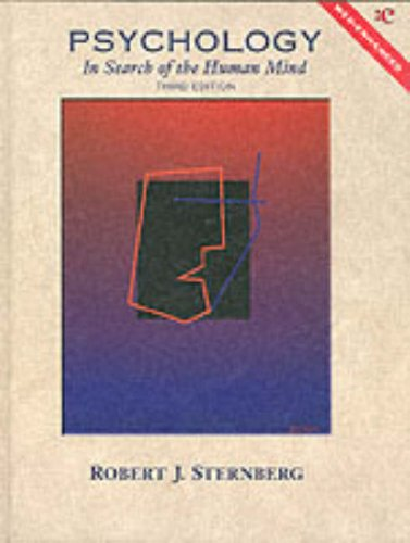 Psychology: In Search of the Human Mind/Web-Enhanced: Robert J. Sternberg