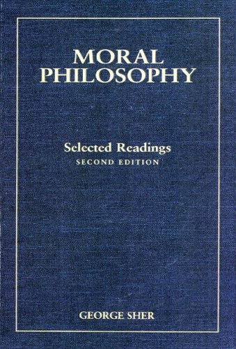 9780155060104: Moral Philosophy: Selected Readings
