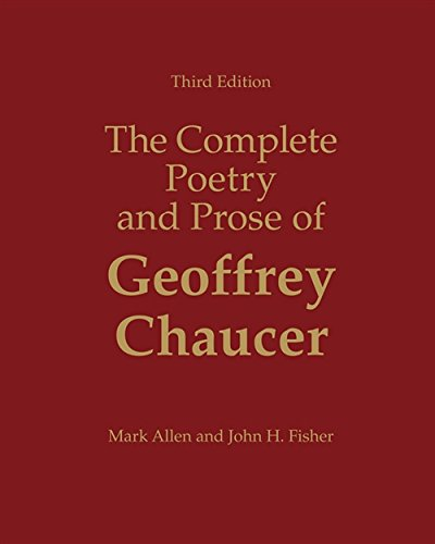 9780155060418: The Complete Poetry and Prose of Geoffrey Chaucer
