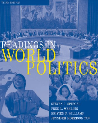 Readings in World Politics: Fred L. Wehling;