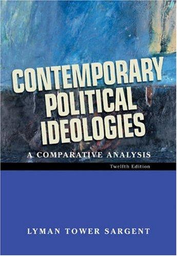 9780155060630: Contemporary Political Ideologies: A Comparative Analysis