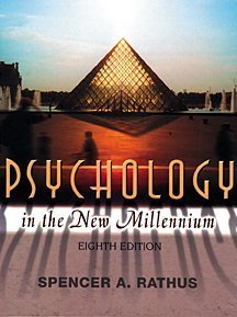 9780155060678: Psychology in the New Millennium