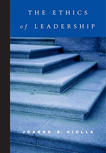 9780155063174: The Ethics of Leadership