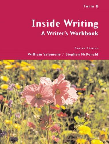 9780155063303: Inside Writing: A Writer's Workbook, Form B