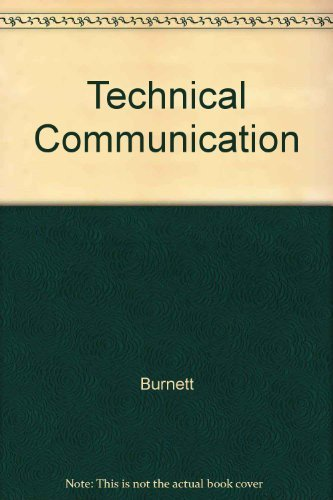 9780155063679: Technical Communication