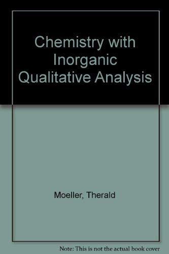 9780155064928: Chemistry with Inorganic Qualitative Analysis