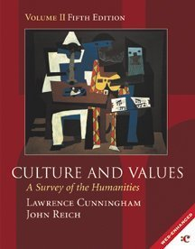 9780155065352: Culture and Values: a Survey of the Humanities: Vol 2