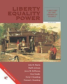 9780155065369: Liberty, Equality, Power A History of the American People COMBINED 3RD EDITION