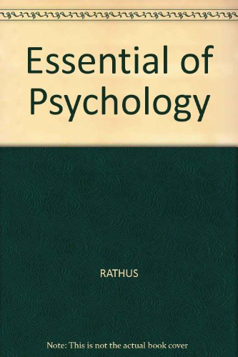 Essential of Psychology: RATHUS