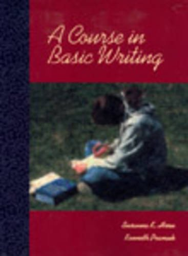 9780155065406: A Course in Basic Writing
