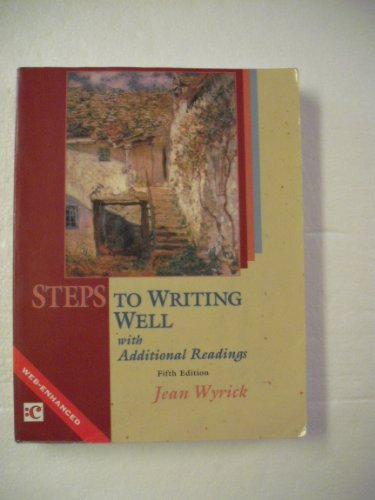 9780155065680: Steps to Writing Well: With Additional Readings