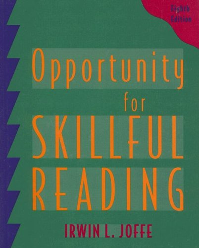 9780155065888: Opportunity for Skillful Reading