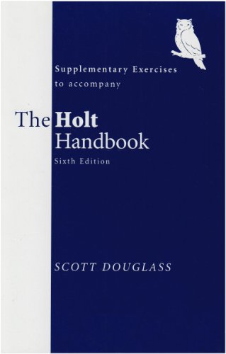 9780155066243: Holt Handbook Supplementary Exercises