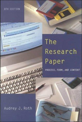 9780155066298: The Research Paper: Process, Form, and Content