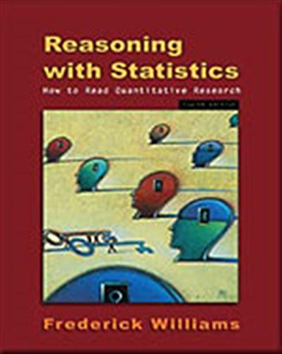 9780155068155: Reasoning With Statistics: How To Read Quantitative Research