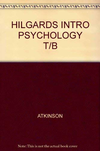 Hilgard's Introduction to Psychology : Test Bank: Edward E. Smith