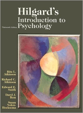 9780155068384: Hilgard's Introduction to Psychology