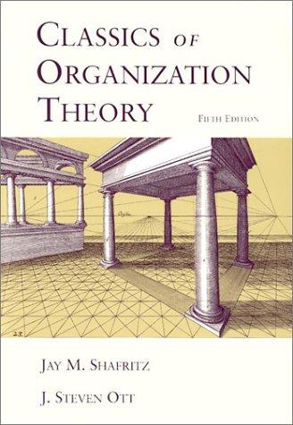 9780155068698: Classics of Organization Theory